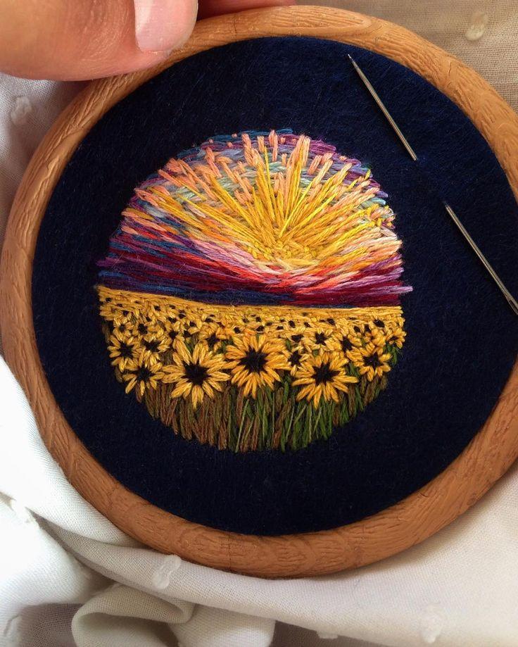 Картинка вышивка из ниток