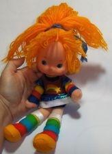 "Vintage Rainbow Bright Doll 1983 Hallmark 12"" Girl Cloth Body Vinyl Head"