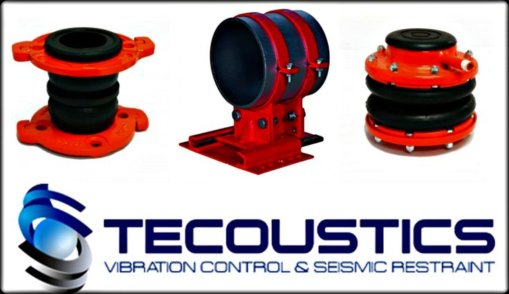Tecoustics Ltd. carries a full range of product solutions extending from spring hangers for acoustical ceilings, to building isolation. #NoiseAndVibrationControl #SeismicEngineering http://bit.ly/tecoustic