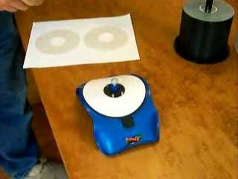 How to apply a CD label - YouTube How to apply the lable - cd label