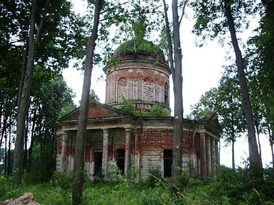 Заброшенные церкви. Церковь находится в Ступинском районе Московской Области, в селе Талеж.