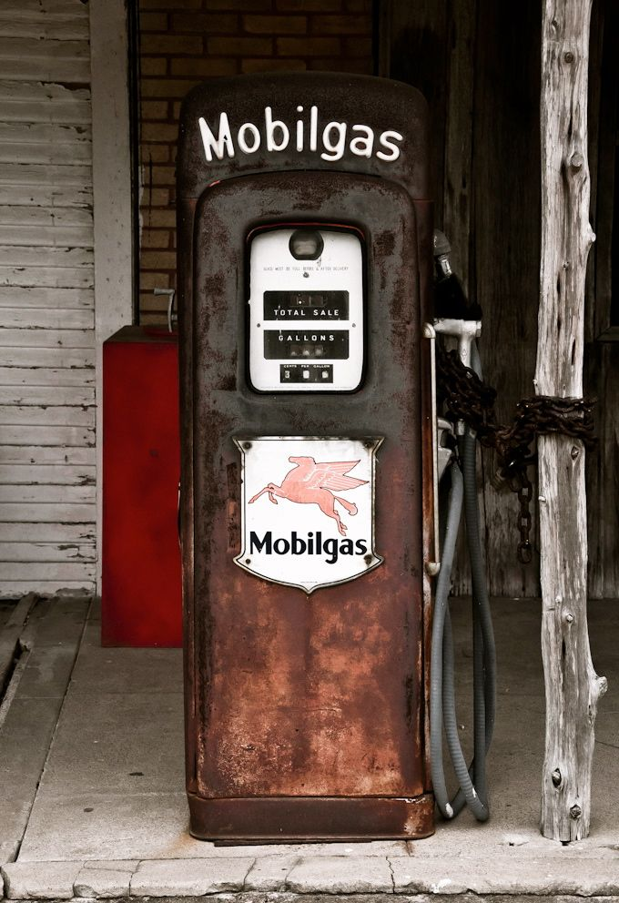 Mobilgas- my grandpa owned a Mobil gas station when I was little.