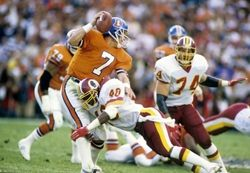 washington redskins win super bowl | ... Redskins defeated the Broncos 42-10 to win their 2nd Super Bowl title