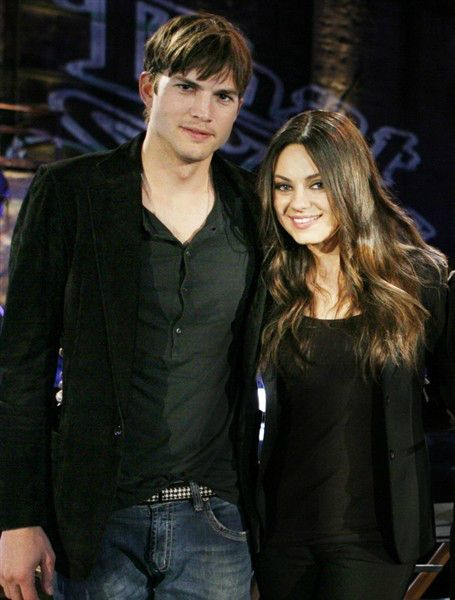"Mila Kunis, Ashton Kutcher ""Open with Their Affection"" During Lunch Date 