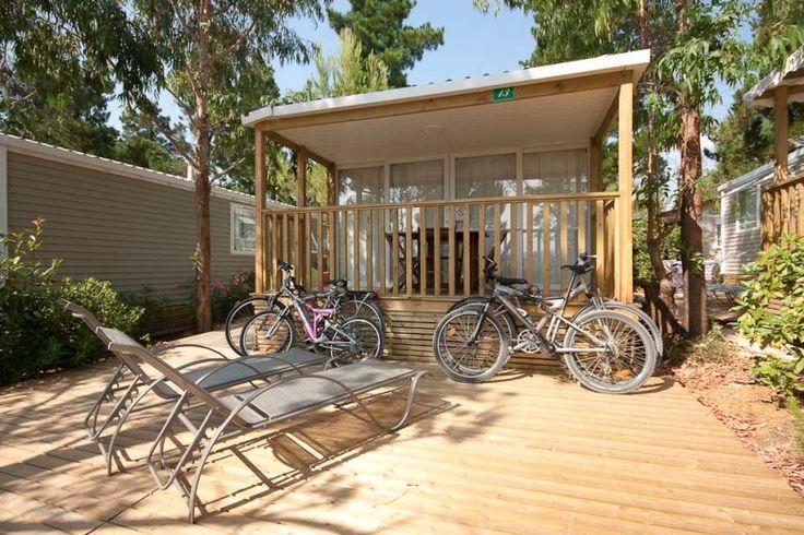 Location mobile-home Privilège® en camping avec parc aquatique