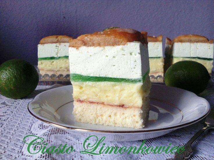 Ciasto Limonkowiec | Szczypta Słodyczy