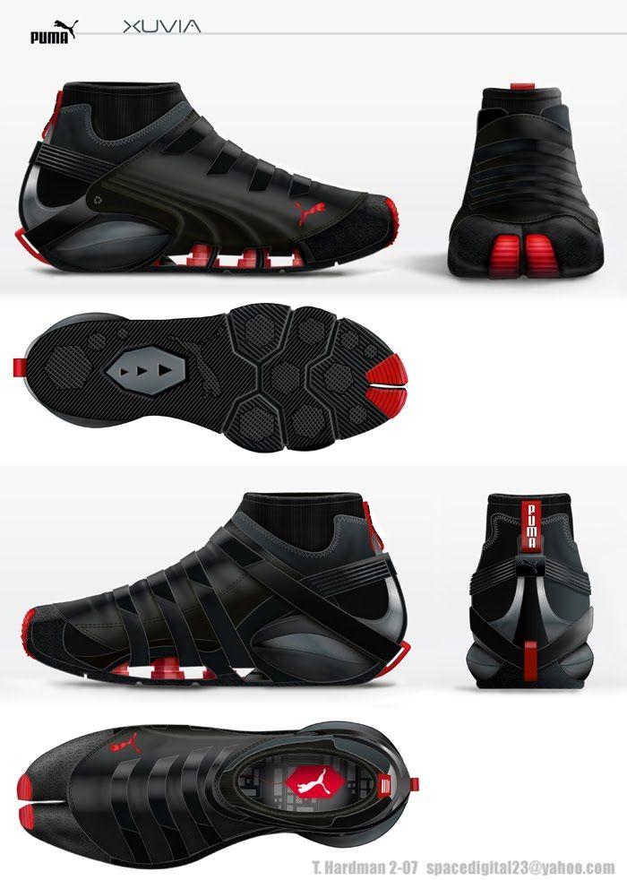 Puma Parkour concept shoe | Parkour | Pinterest | Shoes ...
