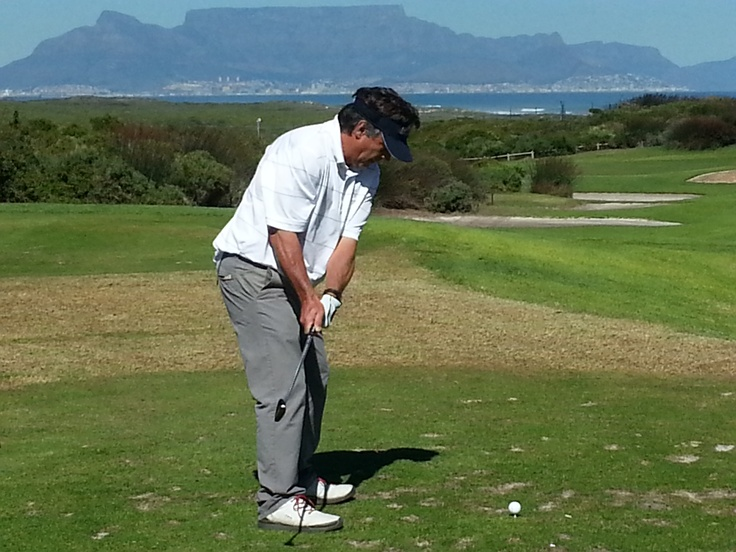 His swing improved after our sangria