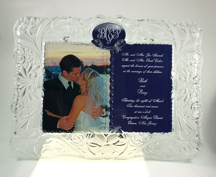 16 best engraved vases images on pinterest vases, crystal vase Crystal Wedding Invitation Frame cherish moments frame with engraved invitation this magnificent crystal frame will take your breath away! it was specifically designed to have a wedding High-End Elegant Wedding Invitations
