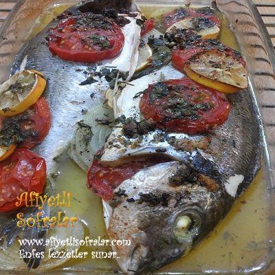 FIRINDA ÇUPRA BUĞULAMA.. http://www.afiyetlisofralar.com/mutfaktan-lezzetler/yemektarifi/balik-yemekleri/firinda-cupra-buglama