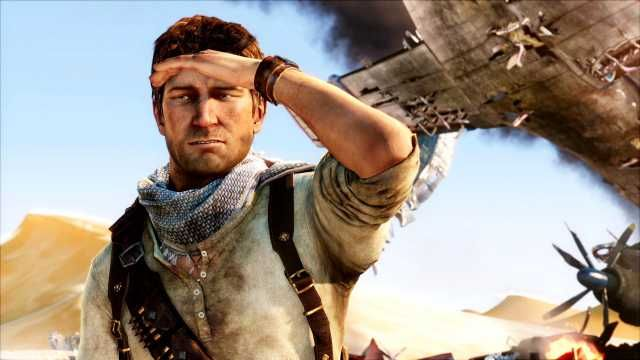 Nathan Drake from the Uncharted Series