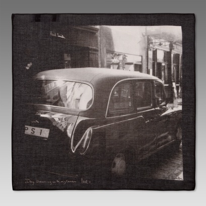 Paul Smith Handkerchiefs - London Cab Print Handkerchief - agxa-198b-s374-4Squares Collection, Paul Smith, Men Accessories, London Cab, Doces Paul, Prints Handkerchief, Cab Prints, Pocket Squares, Smith Handkerchief