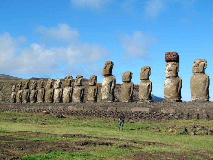 Easter Island, Chile - Karen Schwartz/AP Photo
