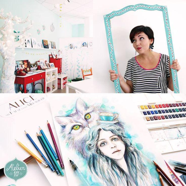 Oggi vi presentiamo il nuovo creativo della stagione. Lei si chiama Gabriella ed è dietro le scene di Duediquadri Atelier. L'intervista sul nostro blog: www.atelier10team.blogspot.it