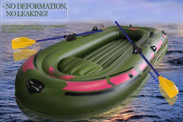 Надувная лодка ПВХ с веслами и ножным насосом Размер: 170 см x 100 см, толщина ПВХ материала 0.4 мм. Разделенный 4 воздушными пространствами Вес, около 6 кг.  Держит - 150 кг.  Цена : 3 991 руб. ➡ Купить - http://ali.pub/yshkl