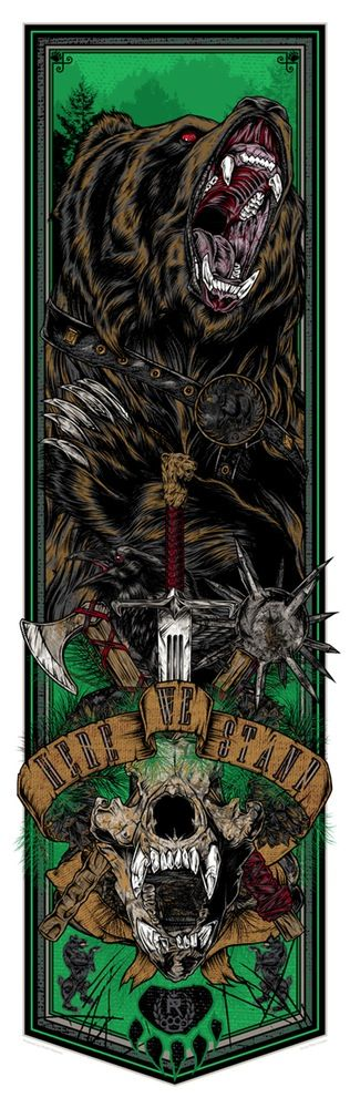 Here We Stand (Mormont) by Rhys Cooper