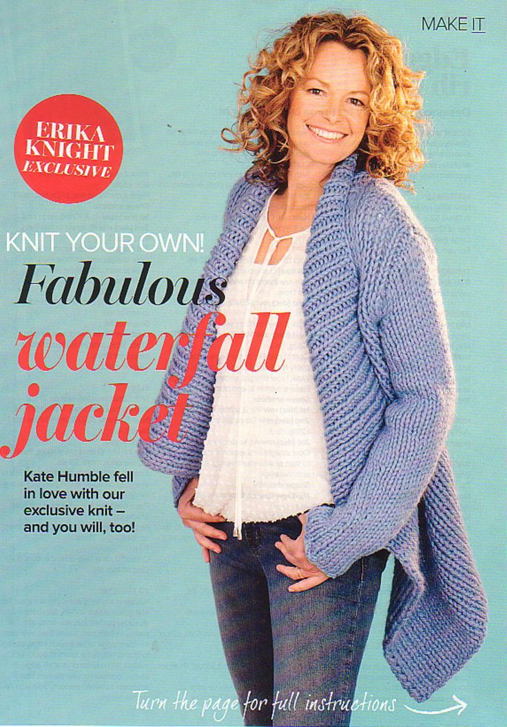 Knitting Pattern For Waterfall Jacket : Pin by Chris Greaves on Knitting, sewing, crochet Pinterest