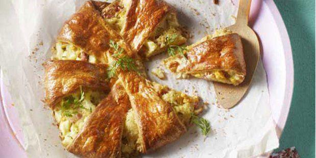 Gevuld croissantbrood