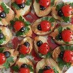 Ricette per bambini: tartine con le coccinelle - Ricette per bambini