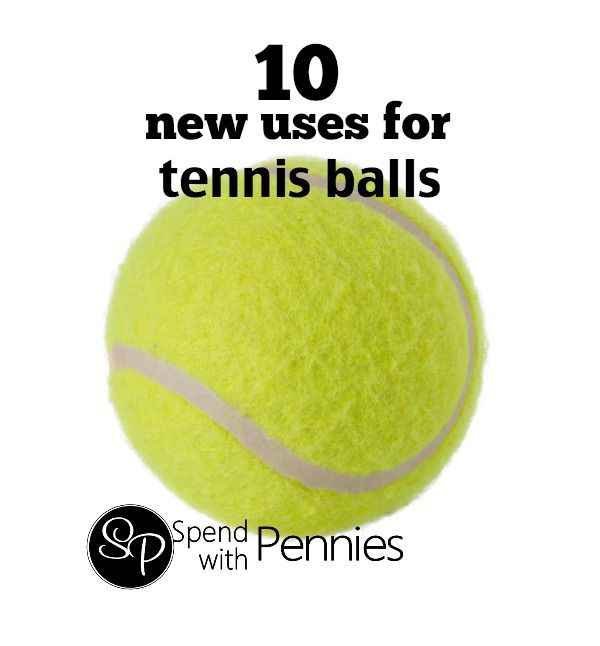 10 New Uses for Tennis Balls!  (They are great for laundry!!)