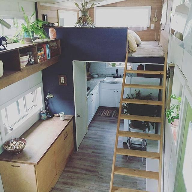 ideas about Tiny House Loft on Pinterest Tiny homes Tiny