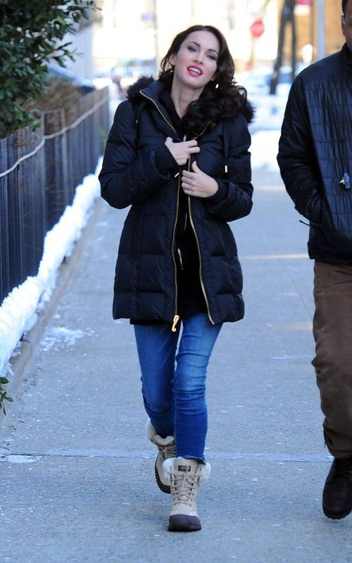 Megan and her Ugg Adirondack Boot II.. Got me some of those!!