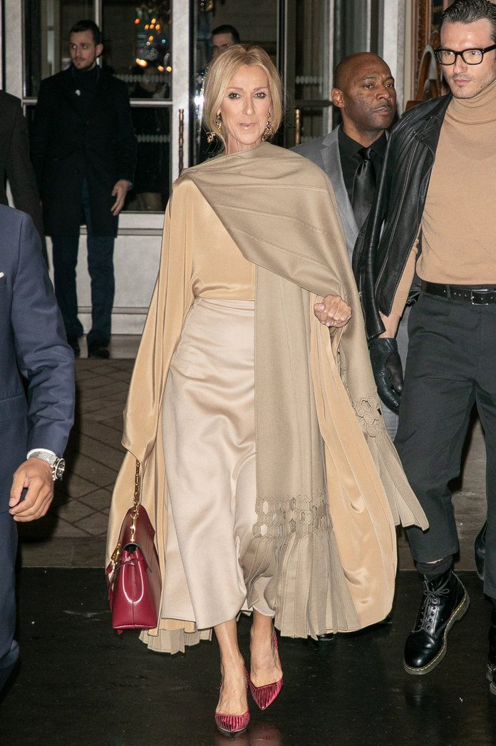 My Heart Will Go on for Celine Dion's Paris Couture Week Style