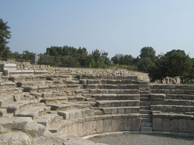 The Roman Odeon in Troy