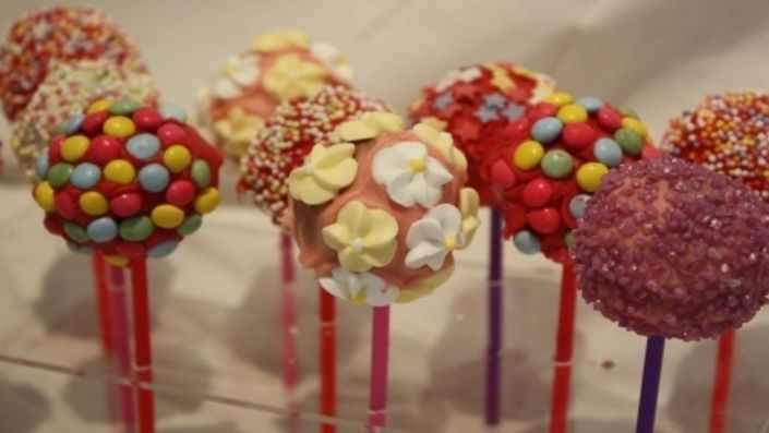 how to make vanilla cake pops