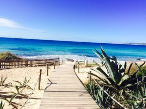 Formentera. Playa Migjorn.