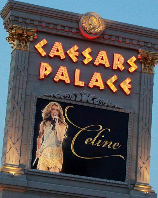 Caesars Palace & Celine Dion's concert  It was amazing!