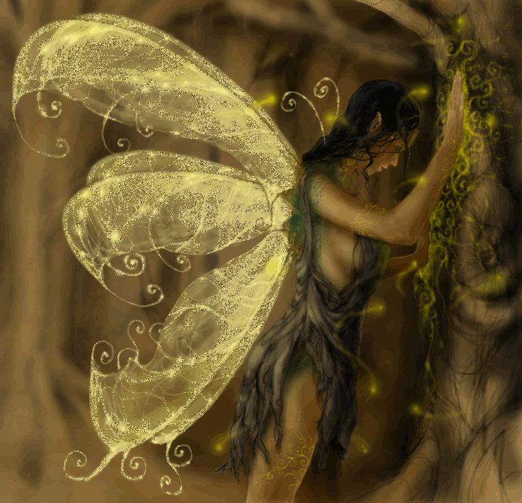 Wings of light fairy