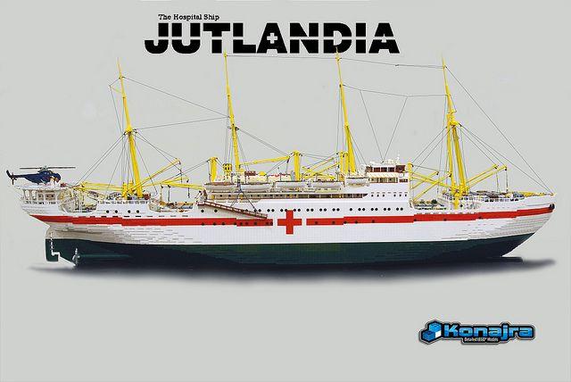 Jutlandia Lego model