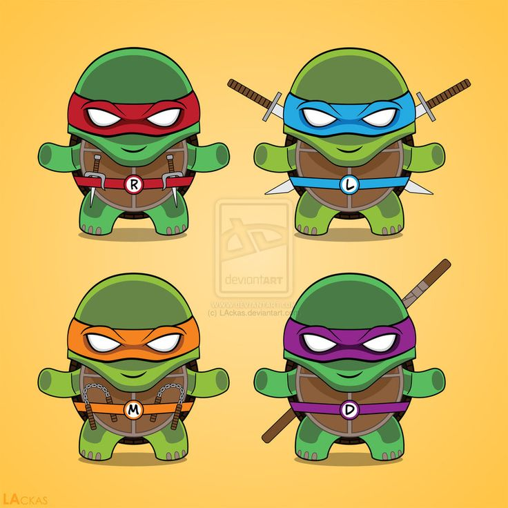 Teenage Mutant Ninja Turtles Tattoos | Teenage Mutant Ninja Turtles T-shirt design by LAckas on deviantART