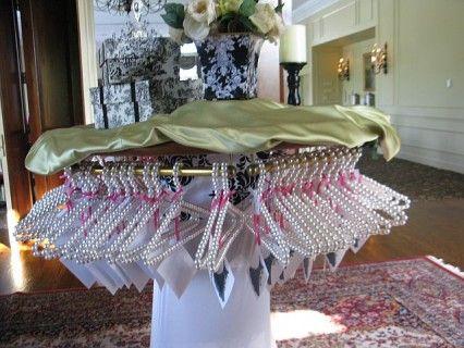 Unique bridal shower little black dresses and bridal for Creative shower ideas