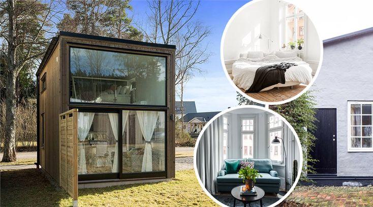 Små och fina lägenheter är hetare än någonsin . Hemnet kryllar av ettor, vissa så små som 16 kvadrat, men som ändå är både smarta och fina. Topprenoverade, trendiga, välplanerade. Vi har samlat några av de allra finaste miniettorna – och några ettor som små hus. Bläddra dig vidare och få inspiration!