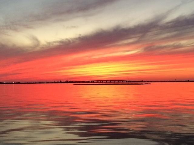 Sunset Bridge To Lbi In Ship Bottom Nj On Nov 8 2014 Long Beach Island Sunset Sunrise Sunset