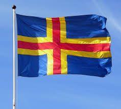 Image result for aland flag