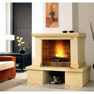 17 best images about chimeneas on pinterest hearth wood storage and stone fireplaces - Chimeneas con cassette ...
