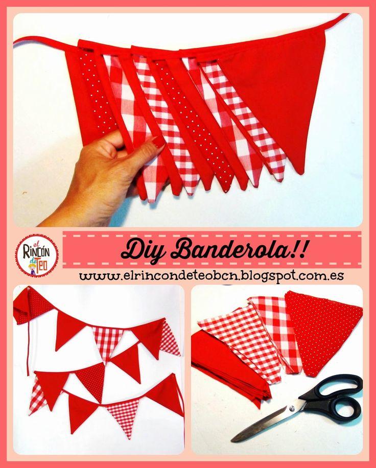 Por fin!! Nuestro DIY Tutorial de los lunes!!! Aprende paso a paso a hacer tu propia Banderola!! Espero que te guste y lo compartas!! Yepaaa!! CLICKA AQUÍ http://goo.gl/ECpm5k #DIY #tutorial #sewingtutorial #tutorialcostura #costuracreativa #tutorialbanderola #bannertutorial #garland #sewingtips #tipscostura #handmade
