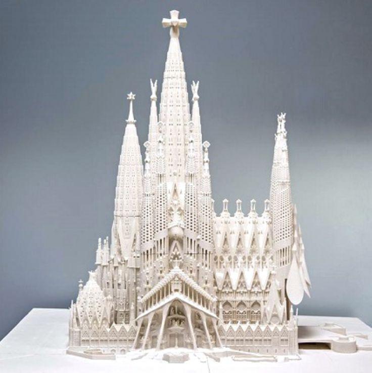 3D Printing Accelerates Construction on Gaudí's Sagrada Família