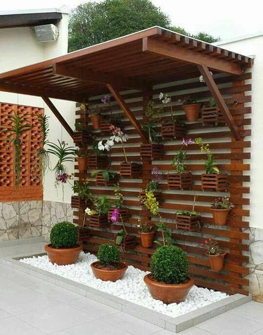 Great idea for a little backyard garden  | Отличная идея для сада на заднем дворе