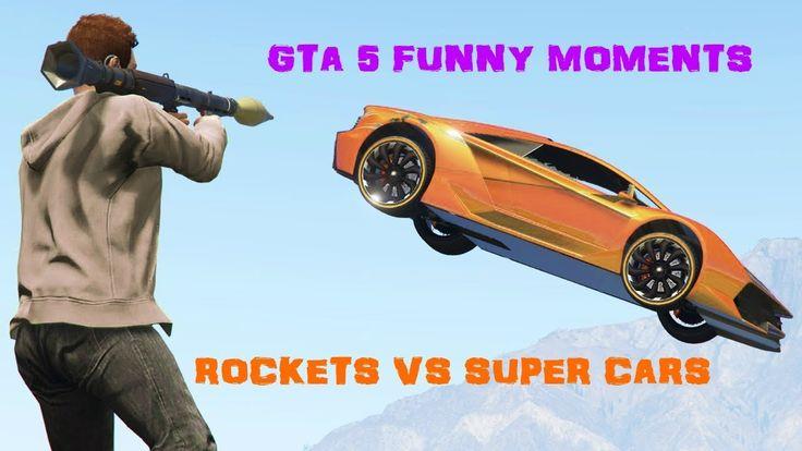 Rockets vs Super Cars on GTA V #GrandTheftAutoV #GTAV #GTA5 #GrandTheftAuto #GTA #GTAOnline #GrandTheftAuto5 #PS4 #games