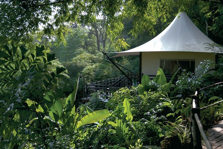 Luxury travel: The Four Seasons Tented Camp in Chiang Rai, Thailand, has been ranked the f...