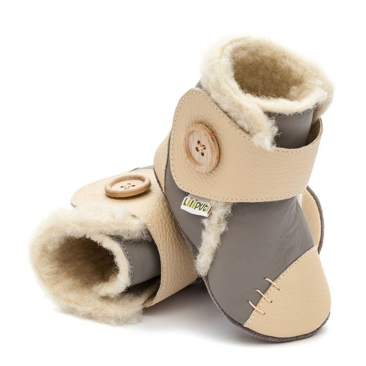 http://www.liliputibabycarriers.com/soft-leather-baby-boots/soft-soled-booties-snowflake-grey