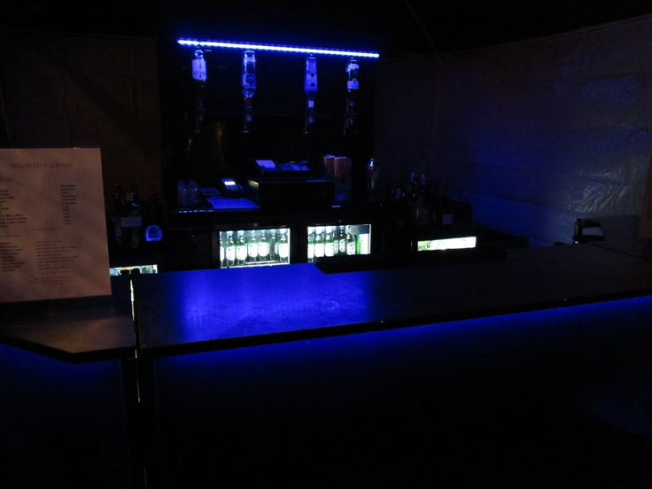 Blue Mobile Bar