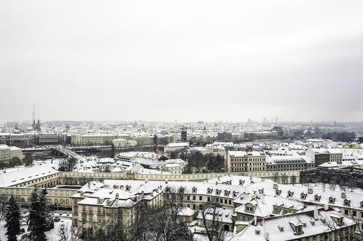 WINTERTIME in PRAGUE. PHOTO: Honza Zima