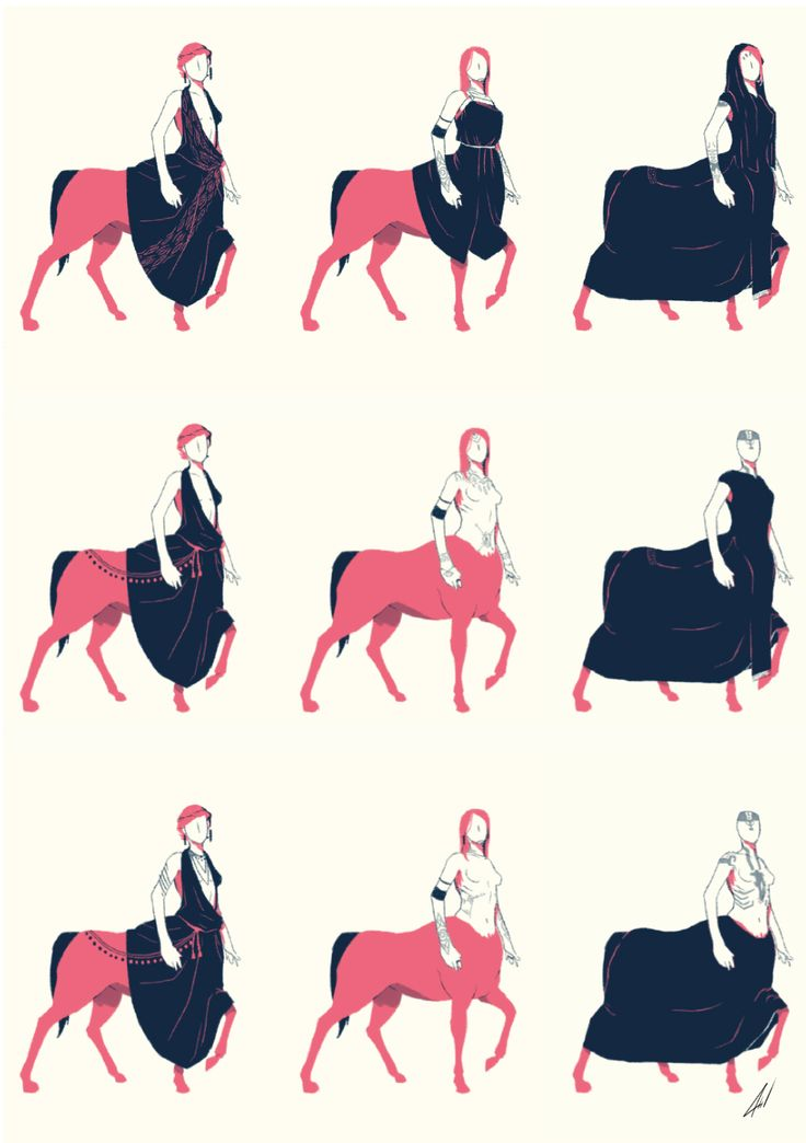 As a continuation I bring you the female centaurs of the project I'm working on at the moment.  You can find the males here  http://talesofdesign.tumblr.com/post/160474592185/clothes-concept-for-a-little-project-im-working