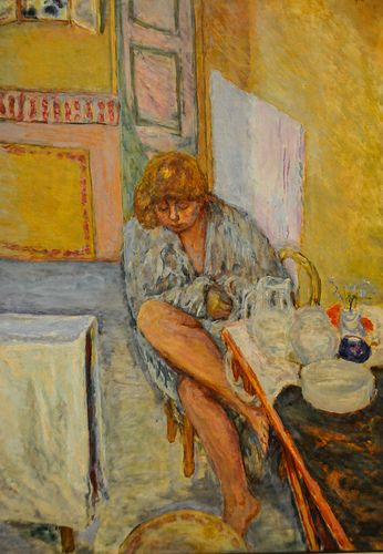 After the Shower, 1914 ~ Pierre Bonnard ~ (French: 1867-1947)