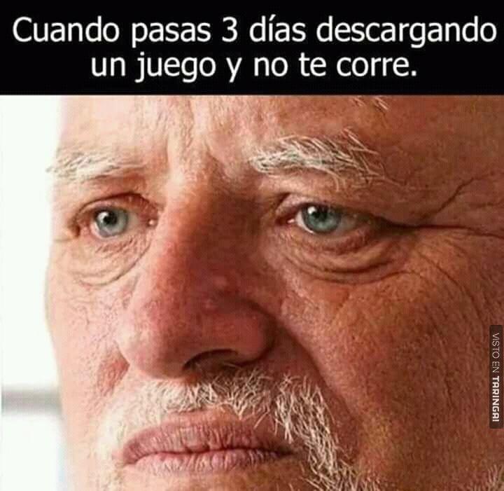 A todos nos ha pasado . Más #shouts en nuestra app descargala gratis! (Link en bio) #VistoEnTaringa #Shouts . . #Humor #Meme #Taringa #Laugh #Gamer #Gamers #Juego #Juegos #Videojuegos #Tristeza #Sad #Sadness #Espera #Wait #Waiting